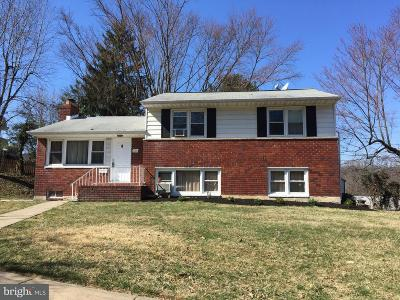 Towson Single Family Home For Sale: 600 Squires Road