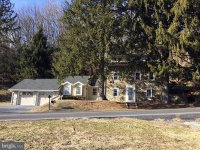 Single Family Home For Sale: 1412 Upper Van Reed Road