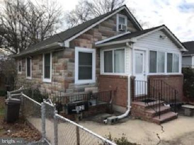 Suitland Single Family Home For Sale: 1821 Porter Avenue