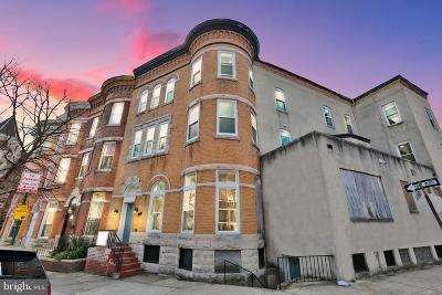 Baltimore Townhouse Active Under Contract: 2224 Madison Avenue