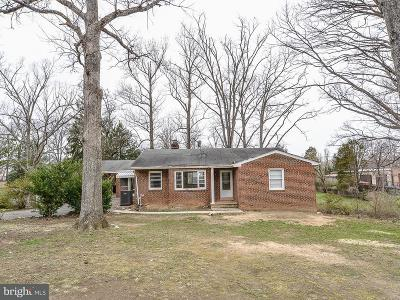 Fairfax, Fairfax Station Single Family Home For Sale: 4420 Village Drive