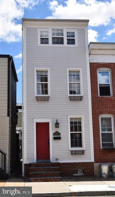 Baltimore Townhouse For Sale: 1201 Highland Avenue S