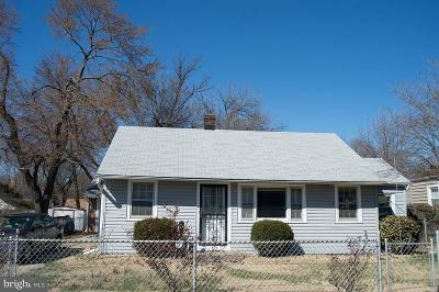 Bladensburg Single Family Home For Sale: 4910 Monroe Street