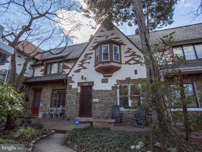 Single Family Home For Sale: 1808 Irving Street NW