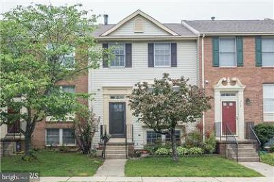 Odenton Single Family Home For Sale: 716 Quiet Pond Court
