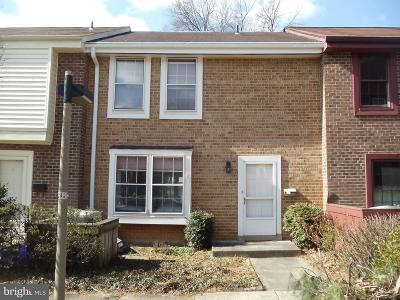 Reston Townhouse For Sale: 2186 Golf Course Drive