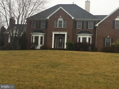 Robbinsville Single Family Home For Sale: 11 Harvest Bend Road