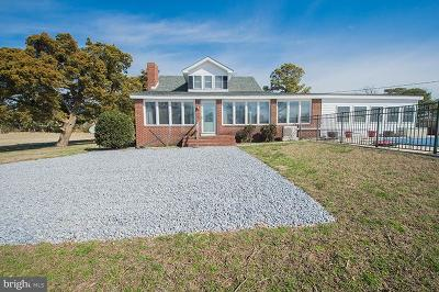 Somerset County, Wicomico County, Worcester County Single Family Home For Sale: 23210 Paul Benton Circle
