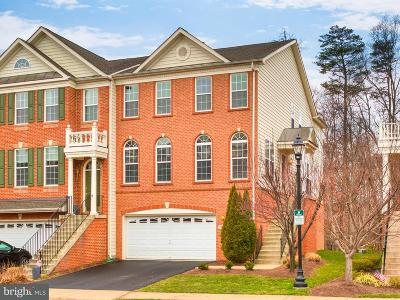 Ashburn Townhouse For Sale: 20087 Northville Hills Terrace