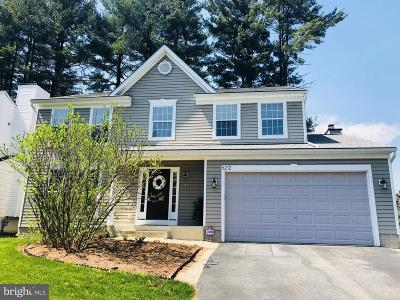 Howard County Single Family Home For Sale: 6212 Welcome Home Drive