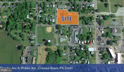 Town Of Colonial Beach Residential Lots & Land For Sale: Douglas Avenue