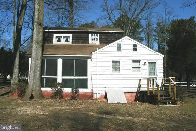 Single Family Home For Sale: 31763 Well Bottom Road