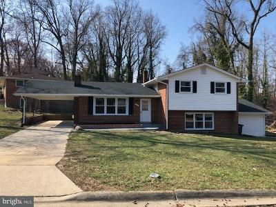 Oxon Hill Single Family Home For Sale: 5101 Martin Drive