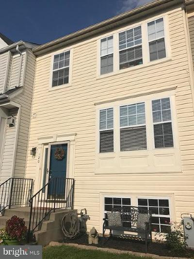 Havre De Grace Townhouse For Sale: 120 Gracecroft Drive