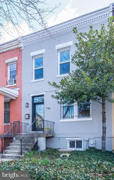 Capitol Hill, Capitol Hill East, Capitol Hill/H Street, Capitol Square Place Townhouse For Sale: 736 13th Street SE