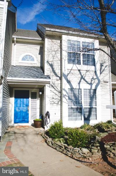 Centreville Townhouse For Sale: 6211 Stonepath Circle
