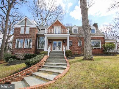 Chevy Chase Single Family Home For Sale: 7729 Brookville Road