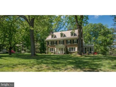 Huntingdon Valley Single Family Home For Sale: 1708 Old Welsh Road