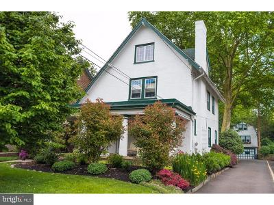 Jenkintown Single Family Home For Sale: 320 Greenwood Avenue