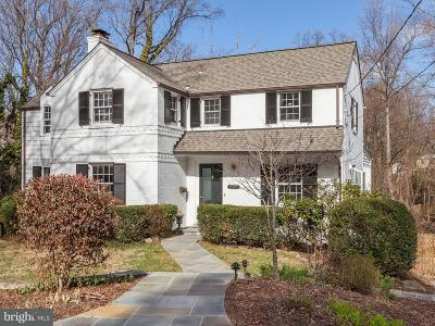 Bethesda Single Family Home For Sale: 5317 Wriley Road
