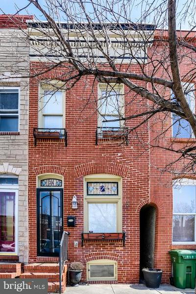 Baltimore Townhouse For Sale: 837 Montford Avenue S