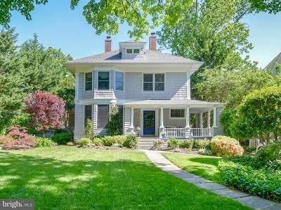 Chevy Chase Single Family Home For Sale: 4709 Cumberland Avenue