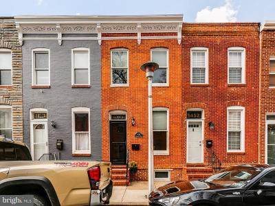 Baltimore Single Family Home For Sale: 1454 Reynolds Street