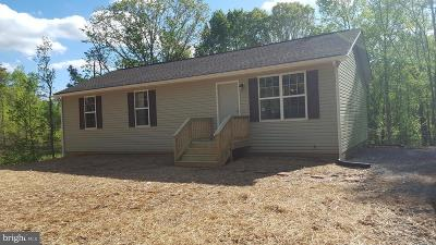 King George County Single Family Home For Sale: Lakeview Drive