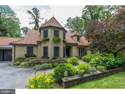 Bryn Mawr Single Family Home For Sale: 1230 Ridgewood Road