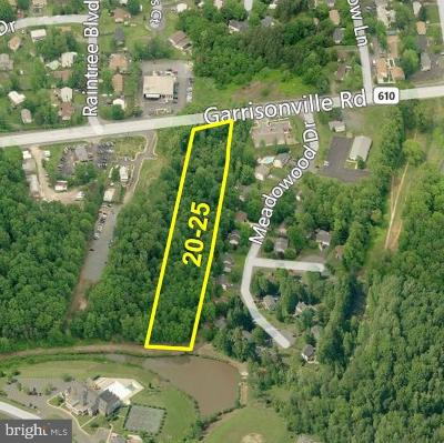 Stafford Commercial For Sale: Garrisonville Rd