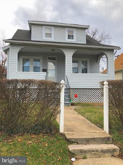 Baltimore MD Single Family Home For Sale: $59,900