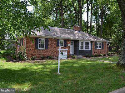 Falls Church Single Family Home For Sale