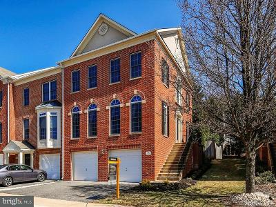 Rockville MD Townhouse For Sale: $649,000