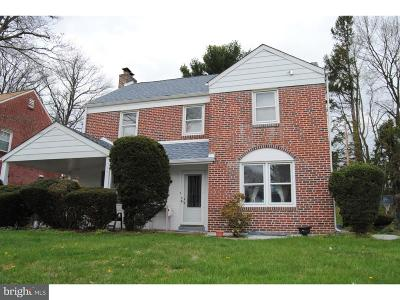 Cheltenham Single Family Home For Sale: 7640 Brookfield Road