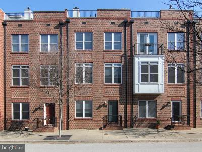 Locus Point, Locust Point, Locust Point/Silo Point Townhouse For Sale: 1423 Benjamin Street