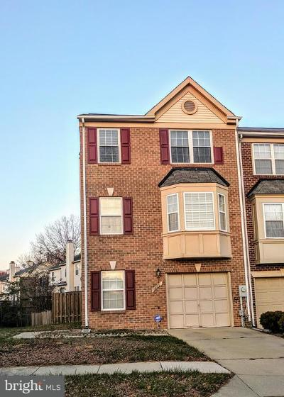 Bowie MD Townhouse Active Under Contract: $250,000