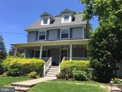 Moorestown Single Family Home For Sale: 5 E Prospect Avenue