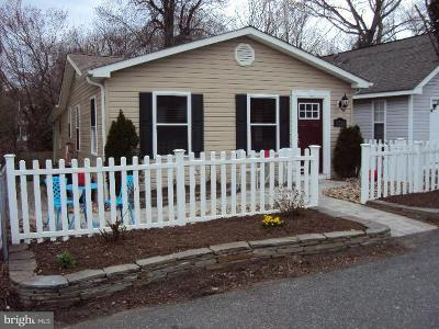Chesapeake Beach Single Family Home Under Contract: 8724 D Street