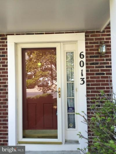 District Heights Rental For Rent: 6013 Rose Bay Drive