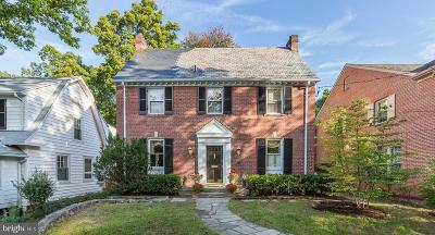 Chevy Chase Single Family Home For Sale: 4125 Woodbine Street