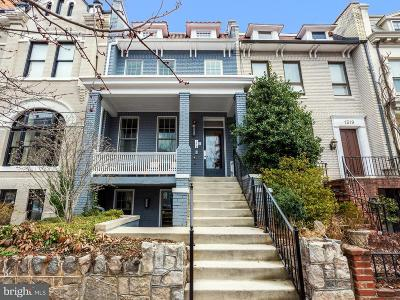 Dupont Circle Single Family Home For Sale: 1321 21st Street NW #5