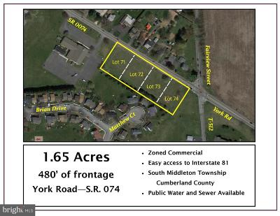 Carlisle Residential Lots & Land For Sale: York Road