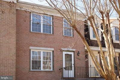 Silver Spring Townhouse For Sale: 12063 Crimson Lane #195