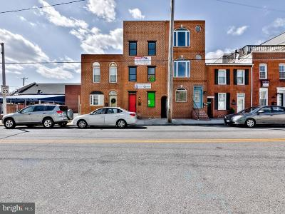 Baltimore Single Family Home For Sale: 1224 Highland Avenue S