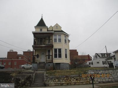Martinsburg WV Single Family Home For Sale: $115,000