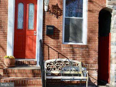 Baltimore Townhouse For Sale: 2428 Fleet Street N
