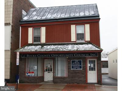 Bucks County Commercial For Sale: 226 Mill Street