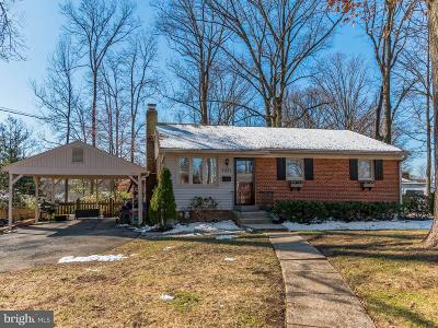 Falls Church Single Family Home For Sale: 7331 Marc Drive