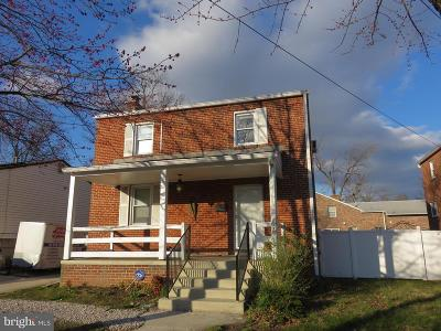 Laurel MD Single Family Home For Sale: $285,000