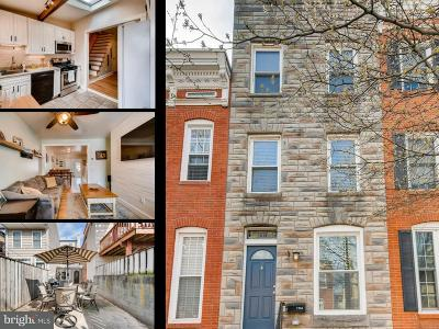 Baltimore Townhouse For Sale: 1114 Potomac Street S